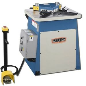 New Baileigh Sn f09 ms 9 Gauge Sheet Metal Corner Notcher