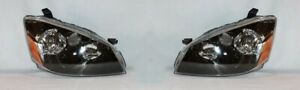 Right And Left Side Headlight Pair For 2005 2006 Nissan Altima base s se sl