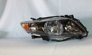 Right Side Replacement Headlight Assembly For 2009 2010 Toyota Corolla S Xrs