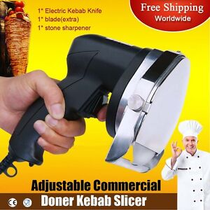 110v 60hz Electric Shawarma Cutter Slicer Knife Gyro Knife Doner Knife Kebab