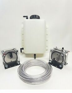 Hho Dry Cell Kit Hydrogen Generator Twin Dry Cells 4 Quart Tank And Hose