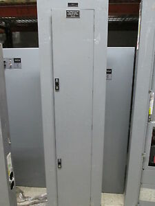 Ge Main Lug Circuit Breaker Panel W Lighting Contactor Aqf3422lbx 8903pbv11