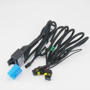 9004 9007 Relay Wiring Harness For Bi Xenon Hid Xenon Kit