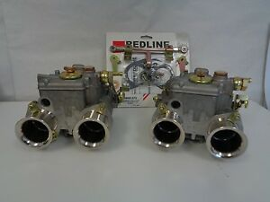 Mercedes Benz 190sl Weber Dual 40 Dcoe Conversion Kit Rejetted