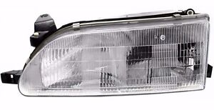 Fit For 1993 1994 1995 1996 1997 Toyota Corolla Headlight Lamp Left Driver Side
