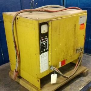 Yale 60hz 3ph 220 440v 12 cell Industrial Battery Charger 3ytf12 600