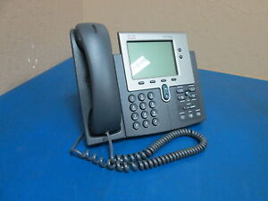 Cisco Systems 7940 Cp 7940g Ip Business Phone S n Fch1233805a