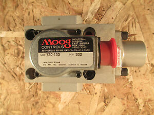 Moog Hydraulic Servo Valve 730 103 New Unused