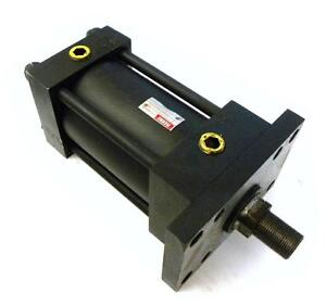 New Hanna Pneumatic Cylinder 4 Bore 4 Stroke Mf12hnc4 00 4 00 Hsf1g