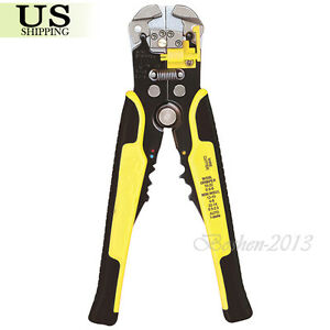 Professional Automatic Wire Stripper Cutter Cable Terminal Crimping Tool Pliers