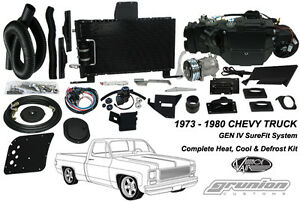 Chevy C10 W Ac 1973 1980 Vintage Air Conditioning Defrost Heat Kit
