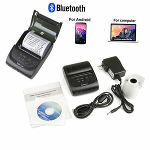58mm Bluetooth Wireless Receipt Pos Thermal Printer For Ios android windows