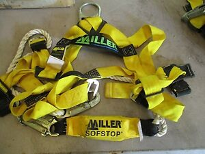 Miller Safety Fall Limiter Harness Lanyard
