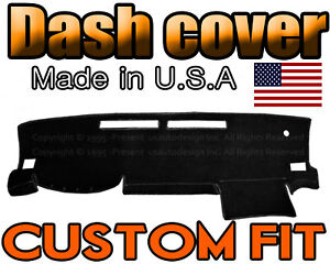 Fits 2016 2018 Toyota Tacoma Dash Cover Mat Dashboard Pad Black