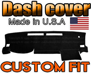 Fits 2016 2020 Toyota Tacoma Dash Cover Mat Dashboard Pad Black