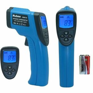 Temperature Gun Non contact Infrared Ir Thermometer Range 58f To 1382f W Laser