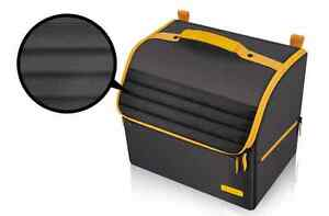 Luxury Car Vehicle Trunk Organizer Collapsible Folding Cargo Storage Box Bin Bag