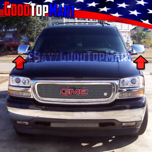 For Gmc Yukon All Models 2000 2002 2003 2004 2005 2006 Chrome Full Mirror Covers