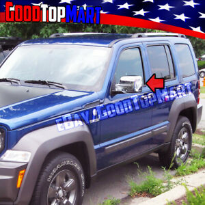 For Jeep Liberty 2008 2009 2010 2011 2012 Chrome 2 Full Mirror Mirrors Covers
