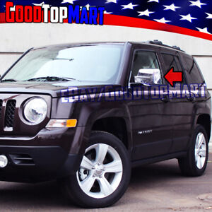 For Jeep Patriot 2008 2009 2010 2011 2012 2013 2014 Chrome 2 Full Mirror Covers