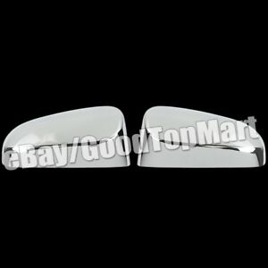 For Toyota Camry 2012 2015 Chrome Top Mirror Covers W Out Turn Light Cutout