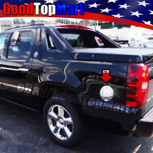 For Chevy Avalanche 2007 2010 2011 2012 2013 2014 Chrome Gas Fuel Cap Door Cover
