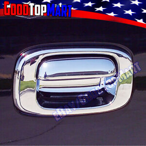 For Chevy Silverado 1999 2004 2005 2006 Chrome Tailgate Cover Without Keyhole