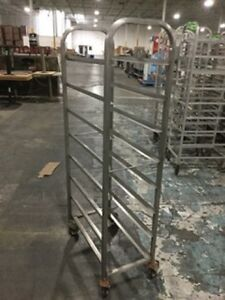 Lot Of 4 Stainless Steel Grocery Racks Must Sell Send Any Offer