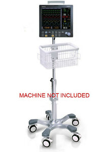 Rolling Stand For Datascope Passport V Patient Monitor New big Wheel