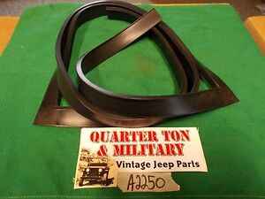 Jeep Willys Mb Gpw Cj2a Inner Windshield To Outer Frame Seal T Rubber