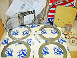 A727 727 Tf8 36rh 37rh Super Master Rebuild Overhaul Kit 1971 on Alto Frictions