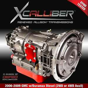 Renewed 1000 gm Allison Series Transmission 6 Speed 2006 2010 Lbz lmm