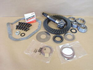 Dana 60 Front 4 88 Ring And Pinion Gear Set Reverse Cut Oem Spicer