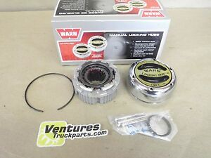 Dana 44 Gm 10 Bolt Warn Premium 4x4 Locking Hub 19 Spline Ford Jeep 1 2 Set