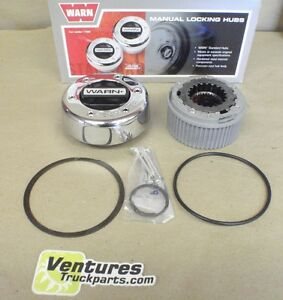 Standard Locking Hub 30 Spline One Side 1 2 Set Warn Dana 50 Or 60 Ford Chevy
