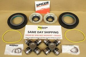 Vacuum Dust Seal Oring And U Joint Kit Ford Super Duty F350 F250 Dana 60 Front
