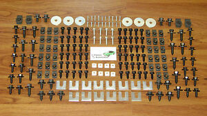 Front End Sheet Metal Hardware 206pc Kt Chevy Buick Pontiac Olds Chevelle Camaro