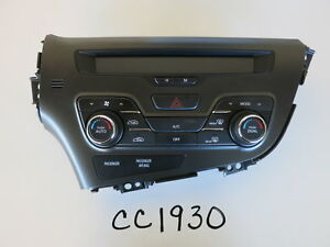 11 12 13 Kia Optima Climate Control Panel Temperature Unit A C Heater Oem Cc1930