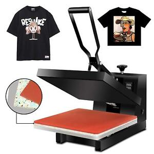 Pro 15 x15 High Pressure Heat Press Digital Sublimation Transfer Machine Black