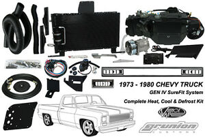 Chevy C10 Truck W o Ac 1973 1980 Air Conditioning Heat Defrost Vintage Air Kit