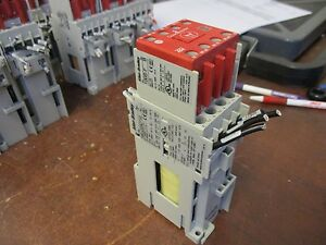 Allen bradley Guardmaster Safety Relay 100s c23dj14c 24vdc Coil 30a 600v Used