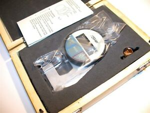 Up To 4 New Fowler Digital 0 4 10mm 0005 01mm Thickness Gage 54 550 777
