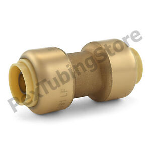 25 3 8 Sharkbite Style push fit Push To Connect Lead free Brass Couplings