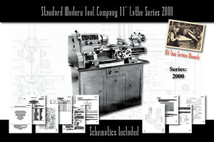 Standard Modern Tool Company 11 Lathe Series 2000 Owners User Service Manual
