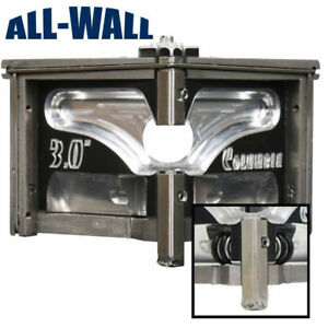 Columbia Drywall Taping Tools 3 Angle Head corner Finisher W convertible Wheels