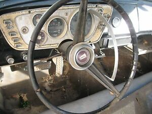 1963 Plymouth Belvedere Steering Column Complete With Steering Wheel 4sp Hot Rod