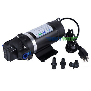 110v Misting Pump 160psi High Pressure Booster Diaphragm Water Pump Sprayer