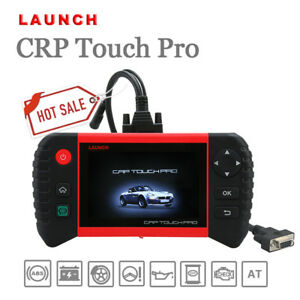 Us Launch Crp Touch Pro Diagnostic Scan Tool All System Free Mbz Bmw Adapters