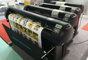New 720mm Vinyl Cutter Plotter Contour Cutting 28 optical Eye signmaster