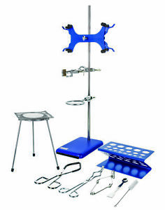Research Grade Lab Starter Kit Includes 24 Rod 8 x5 Retort Base And More